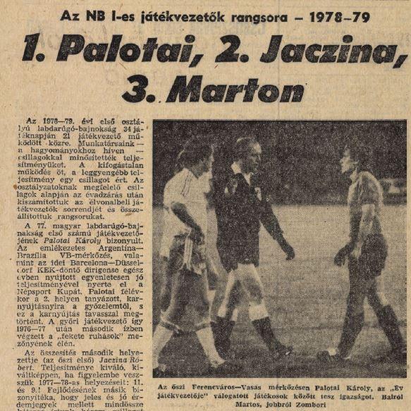 1978/1979-es szezon  - forrás:
