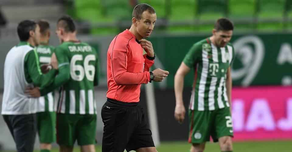 Bognár Tamás: Fradi-Vasas - forrás: m4sport.hu