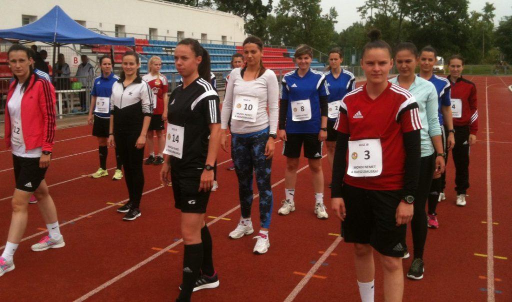 Női játékvezetők felmérése - forrás: mlsz.hu