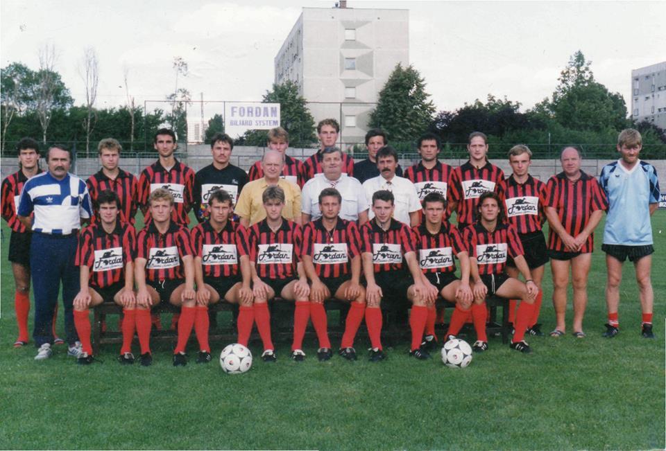 Csapatkép (1993) - forrás: facebook.com