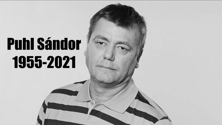Puhl Sándor - halála - forrás: