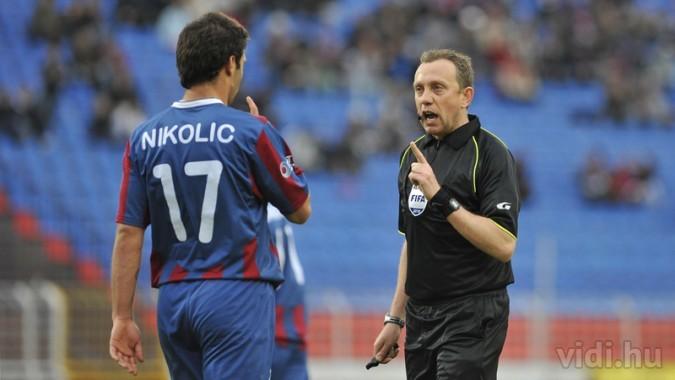 Szabó Zsolt - Nikolci fegyelmezése - forrás: vidi.hu