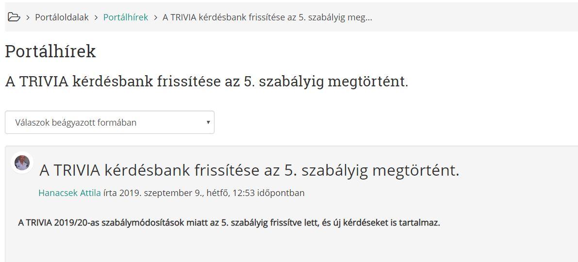 Tirvia (2019.09.08) - forrás: MLSZ JB